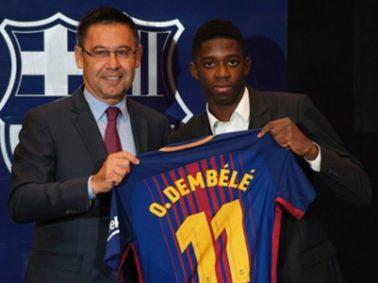 Dembele: I Do Not Feel Pressure Of Price Tag