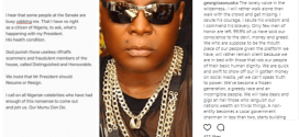 'Where is your President Nigerians?, Una suffering neva start' – Actress Georgina Onuoha asks, commends Charlyboy