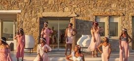 A glance at Stephanie Coker's bridal brunch in Greece last night (Photos)