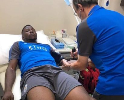Kelechi Iheanacho undergoes medical ahead of a reported ?25m move to Leicester
