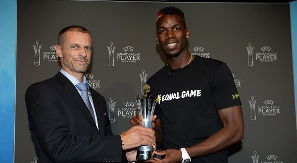 Pogba Voted UEFA Europa League Player For 2016/17 Season Ahead Of Mkhitaryan, Ibrahimovi?