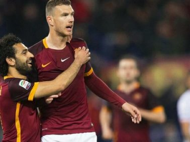 Edin Dzeko Admits He's Missing Mohamed Salah