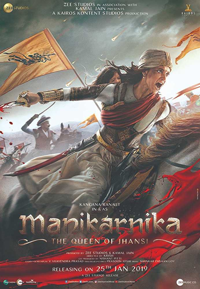 FRESH MOVIESMOVIE :Manikarnika: The Queen of Jhansi (2019) – Bollywood Movie