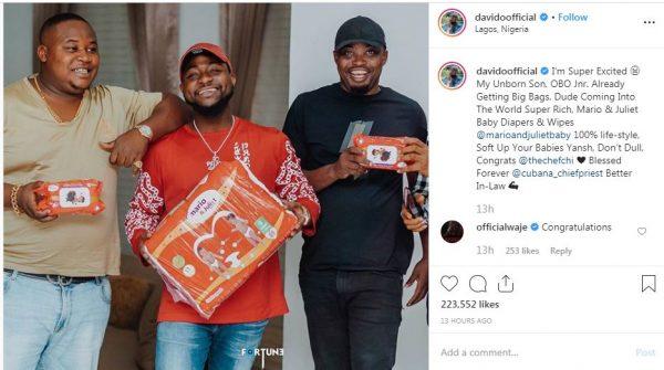 Davido's unborn child bags first endorsement deal (photos) 5