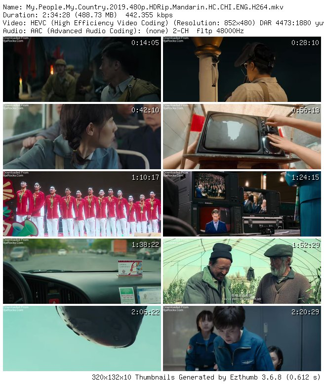 Download Movie My People My Country 2019 Chinese Fast Download