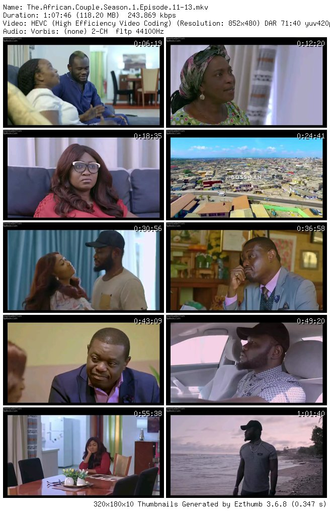 The African Couple Season 1 Episode 11 – 13 [Season Finale]