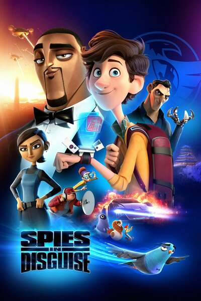 Movie: Spies in Disguise (2019) | Mp4 DOWNLOAD