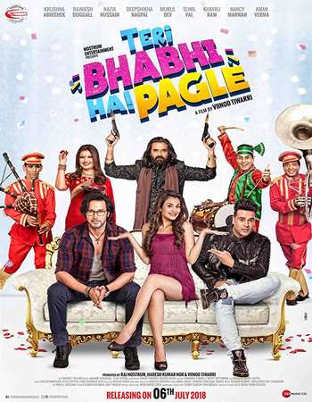 teri-bhabhi-hai-pagle-2018-dthrip-bollywood-movie