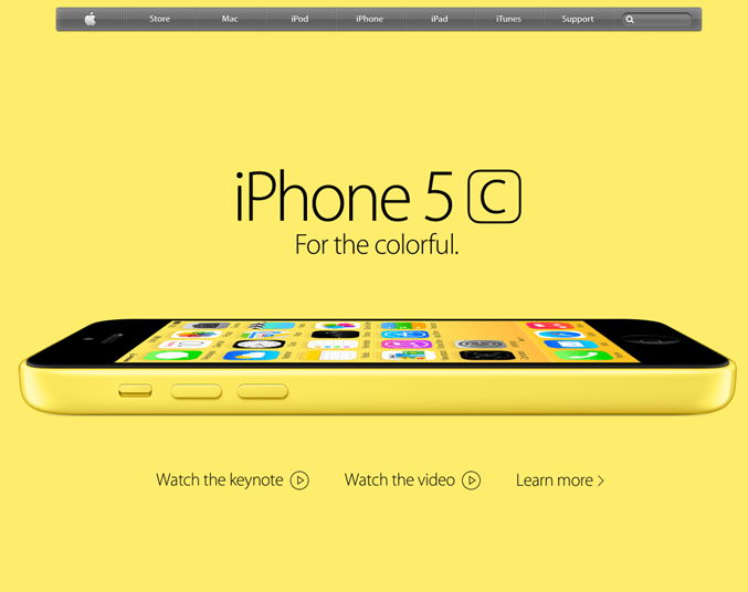 The iPhone 5C doesn't appeal to me