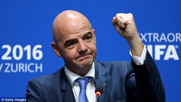 FIFA President to visit Nigeria