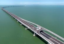 Hong Kong-Macau-Zhuhai Bridge