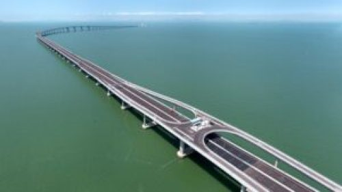 Hong Kong-Macau-Zhuhai Bridge