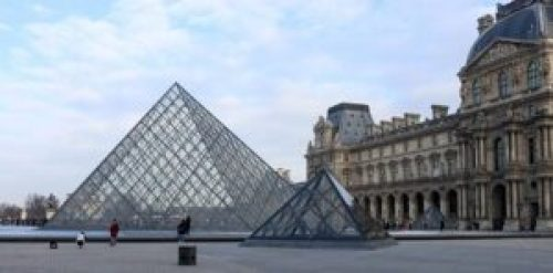 Louvre Museum, the most visited in the world