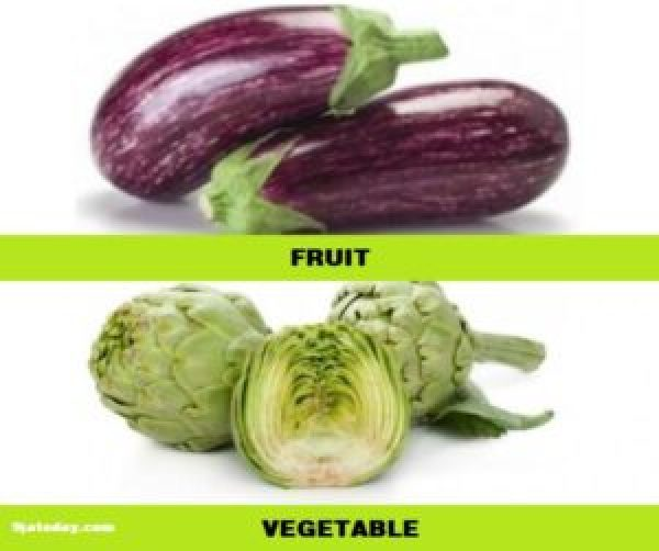 Differences between fruit and vegetable