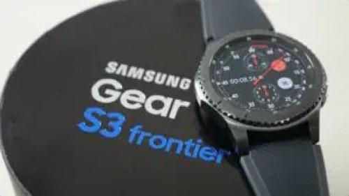 Samsung Gear S3 Frontier - Best Samsung Smartwatch