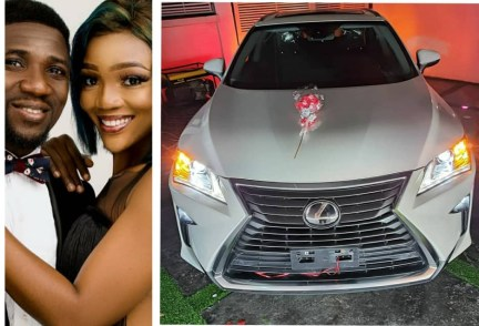 Comedian Ogusbaba gifts wife a Lexus SUV (photo)