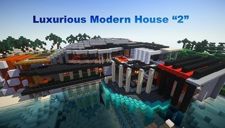 minecraft modern map luxurious maps mc building mansion build special pool inc project sub 9minecraft mod featured