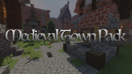 Medieval Town Map Pack 1 12 2/1 11 2 for Minecraft 9Minecraft Net