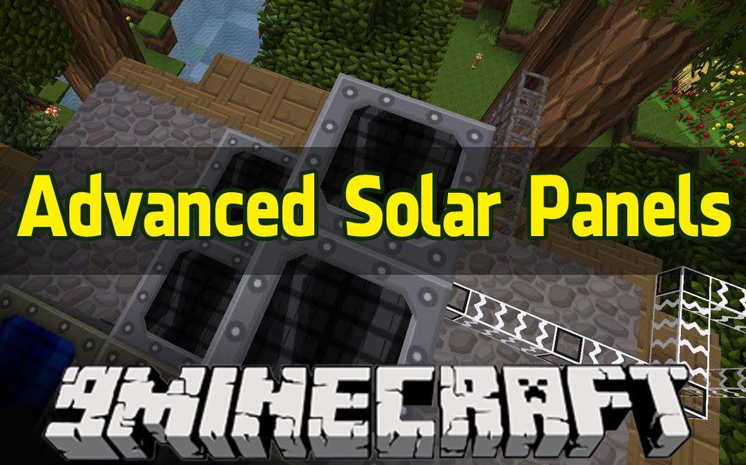 аннод advanced solar panels для майнкрафт 1.7.10 #7