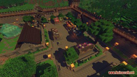 medieval fantasy map town minecraft screenshots 9minecraft