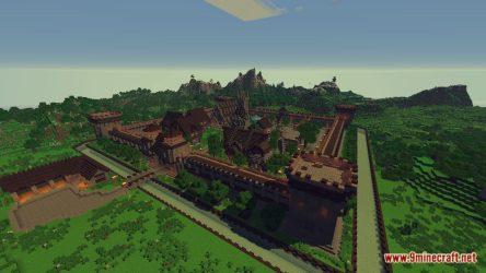 medieval map town fantasy minecraft 9minecraft
