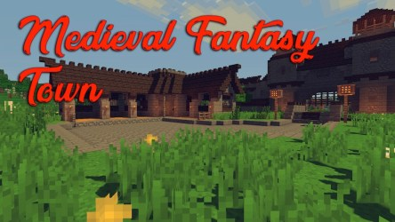 Medieval Fantasy Town Map 1 12 2/1 12 for Minecraft 9Minecraft Net