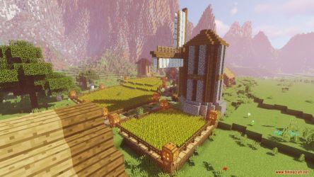 medieval village castle map minecraft 9minecraft
