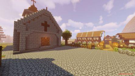 medieval village castle map minecraft screenshots 9minecraft