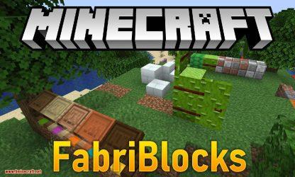 Minecraft Fabric Logo