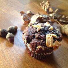 Muffins tout chocolat et pépites de chocolat blanc, recette, cuisine / Blog 9 MOI(S) d'envies à Nantes, mode femme, mode grossesse, maternité, mode enfant, cuisine, décoration, couture, lifestyle , DIY, tutoriel...etc