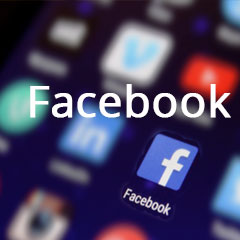 A thumbnail depicting a smartphone with the Facebook app's icon in view. The thumbnail also bears the title Facebook on it.