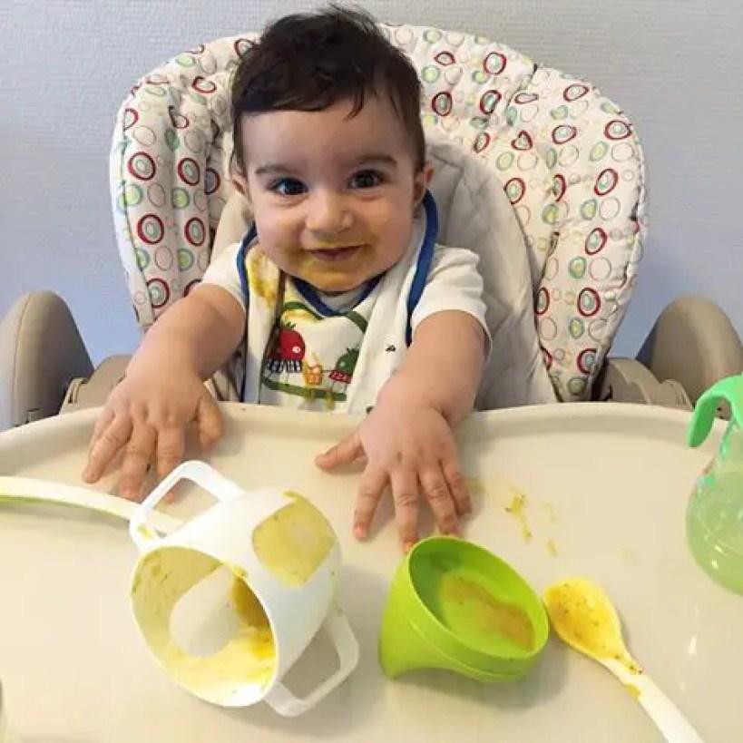 ما هي مواصفات الأغذية المُضافة للأطفال الرضع الصحية