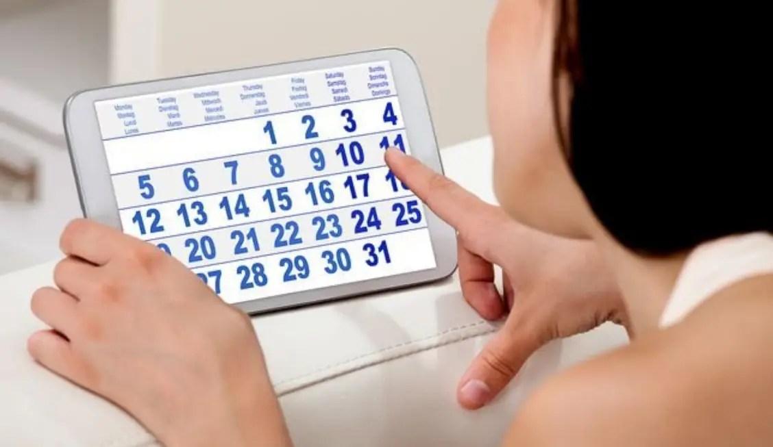 حساب اسابيع الحمل