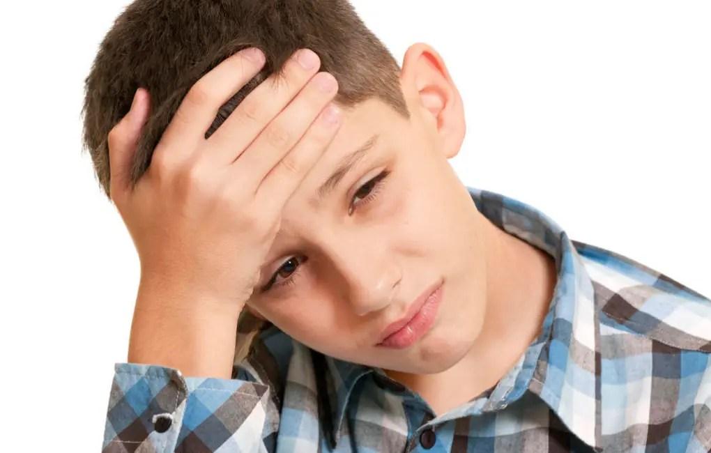 أسباب و علاج الصداع عند الأطفال