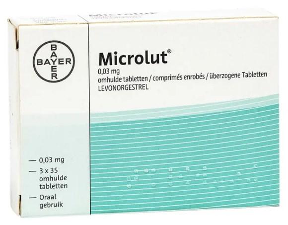 حبوب منع الحمل ميكرولوت
