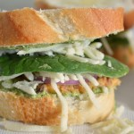 Vegetarian bruschetta Bean Sandwich 9Mood Recipe