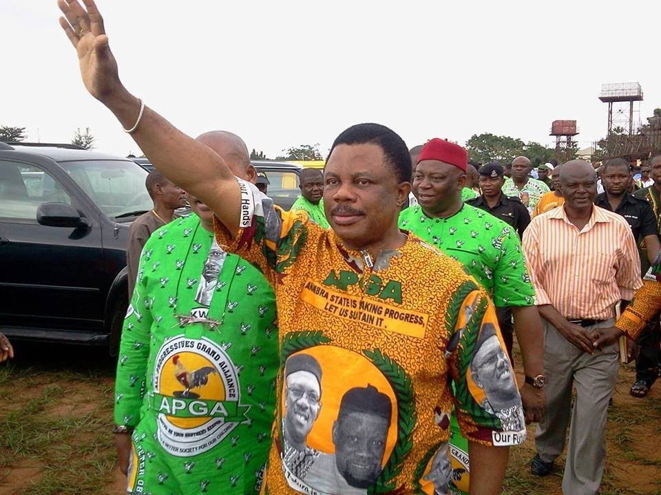 Anambra state governor Willie Obiano