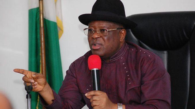 Governor Umahi of Ebonyi state