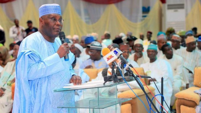 Image result for I've moved 45,000 families out of poverty- Atiku