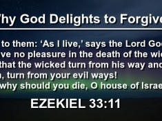 Why God Delights to Forgive