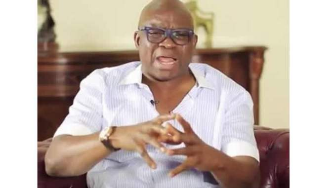 Image result for Fayose Reveals How Buhari Govt. Plan To Jam Telecoms Network During Election