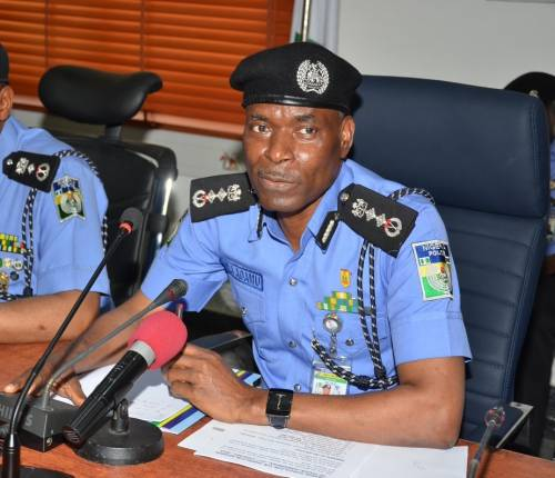 Inspector General of Police, IGP Mohammed Adamu