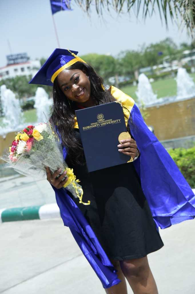 Njoku Chidera Cynthia, Academic award winner (Gold Medalist for academic excellence)