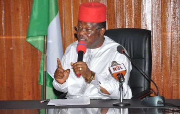 Governor of Ebonyi state - Umahi