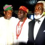 Chief Guy Ikeokwu and other Elder statesmen