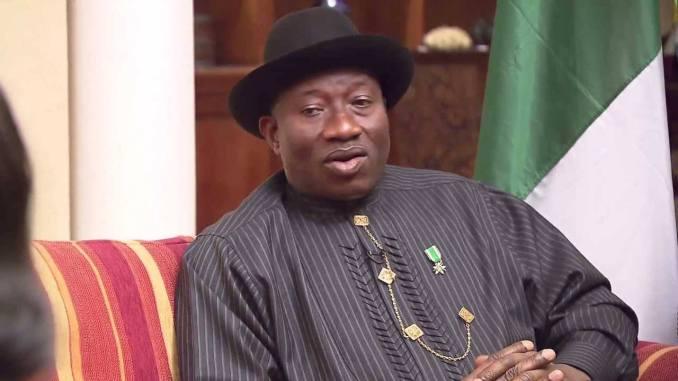 Former President Goodluck Jonathan