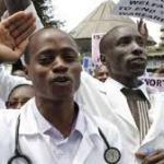Zimbabwe doctors on strike action