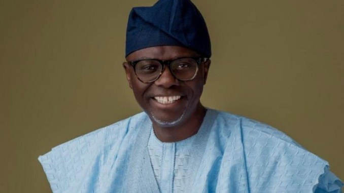 Lagos state Governor,Sanwo-Olu