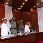 Buhari and service chiefs