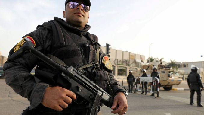 Cairo Gun Battle- Egyptian policeman, seven suspected militants killed